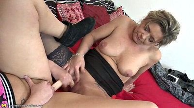 Old and young lesbian, Lesbians mature young, Granny lesbians