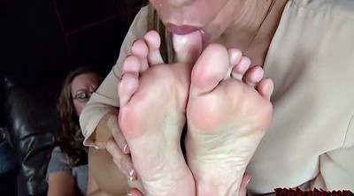 Lesbian foot, Mature feet, Worship, Foot worship