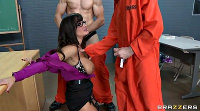 Lisa ann, Prisoner, Prison, Slutty