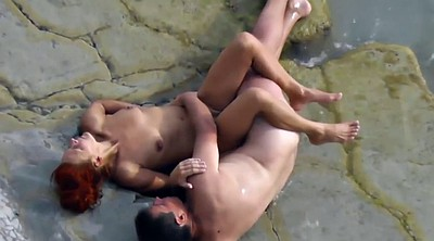 Public outdoor, Beach sex
