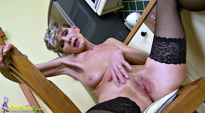 Hairy, Solo milf, Kitchen, Solo fingering, Granny sex, Grandmas