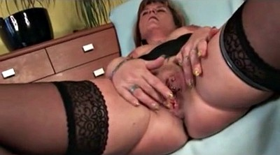 Stockings milf, Nipple, Stockings mature, Stockings fetish, Nipple piercing, Stockings granny