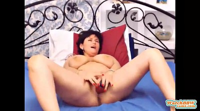 Bbw solo, Webcam mature, Mature masturbation