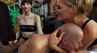 Public group, Bdsm public, Public gangbang, Group anal, Disgrace
