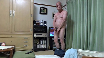 Japanese granny, Japanese gay, Erection, Asian granny, Japanese masturbating, Working