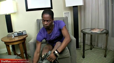 Interracial, White, Star, Skinny shemale, Ebony masturbation