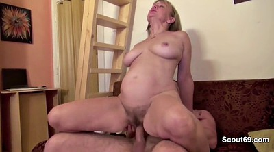 Dad, German mom, German milf, Mom porn, Mature casting