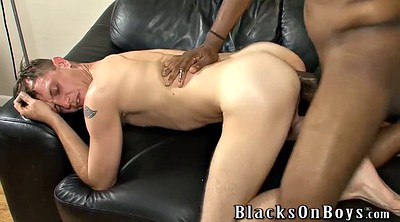 Big cock, Beaten, Gay interracial