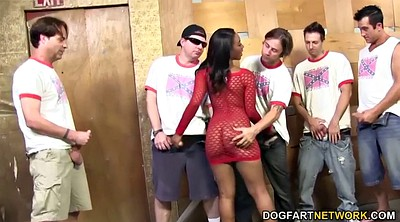 Chanel p, Gangbang interracial