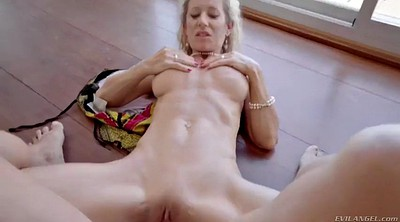 Swallows, Mature handjob