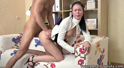 First anal, Throat fuck, Old anal