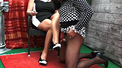 Heels, High heels, Small cock, Bbw feet, Shemale bbw, Bizarre
