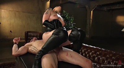 Mistress handjob, Mature orgasm, Mature boy, Hairy blonde, Mistress boots, Mature hairy