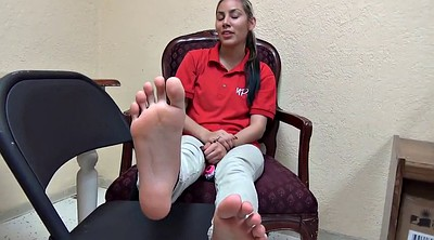 At work, Foot sole
