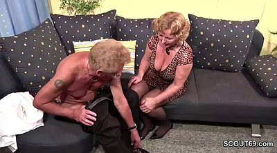 Old couple, Mature couple, German granny, Mature casting, German casting, German porn