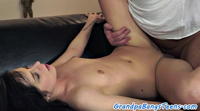 Granny creampie, Old young creampie