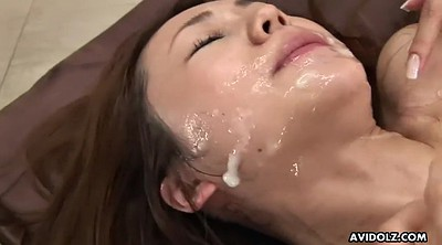 Japanese bukkake, Sakura, Asian bukkake, Asian cumshot