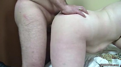 Step daughter, Granny threesome, Old couple