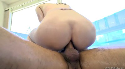Big ass, Pantyhose ass, Rough fuck, Gag, Violet monroe, Rough anal