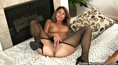 Pussy, Nylons, Mature pantyhose