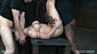Bondage, Ebony milf, Gay rough, Black cock, Rough threesome, Gay bdsm