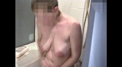 Saggy, Shower, Saggy tits, Take a shower, Big saggy