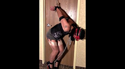 Chained, Chain, Chains, Blindfold, Strappado, In chain