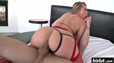 Stocking anal, Stockings anal, Red ass