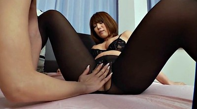Nylon, Pantyhose fetish, Asian foot