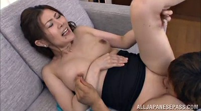 Long hair, Japanese milf