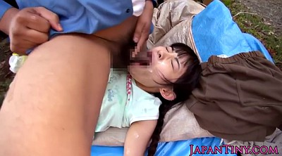 Facial, Japanese threesome, Japanese outdoor, Japanese gangbang, Japanese facial, Cute japanese