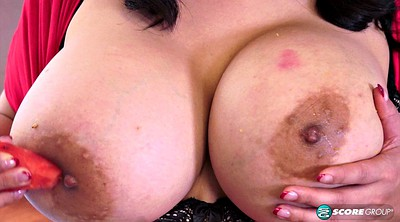 Kitchen, Milf solo, Kitchen solo, Big breasts