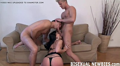 Femdom, First time, Gay first time, First fuck, Bisexual threesome, Bdsm gay