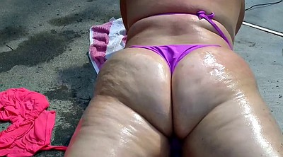 Big butt, Oiled, Bbw butt, Bbw ursula