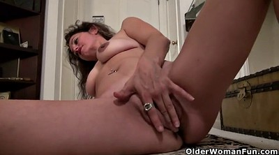 Mature nylon, Nylon masturbation