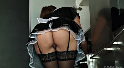 Sensual jane, Sensual, Maid kitchen, Kitchen milf