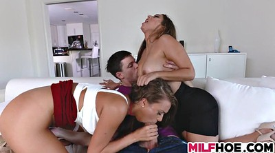 Threesome, Young cock