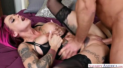 Riding creampie, Anna bell peaks
