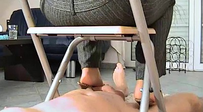 Cfnm handjob, Footing