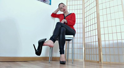 Dirty talk, German foot, Dirty foot, Femdom foot, Dirty, Mistress foot