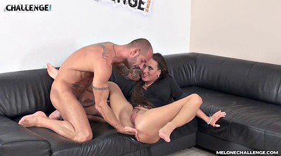 Casting anal, Melons, Mea melone, Casting creampie