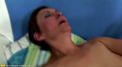 Mature creampie, Hairy mom, Creampie mom, Creampie granny