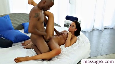 Tiffany, Brooke, Massage black, Black massage