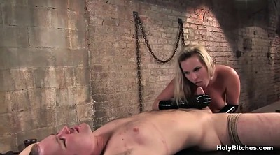 Tied up, Mistress slave, Tied blowjob