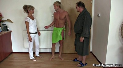 Young old, Wife threesome, Couple threesome, Mature couple