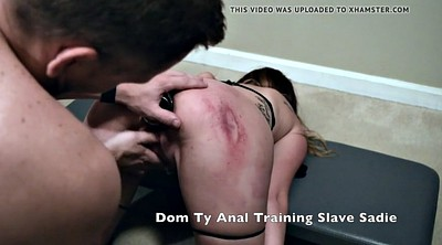 Bdsm, Training, Anal train, Teen slave, Anal training