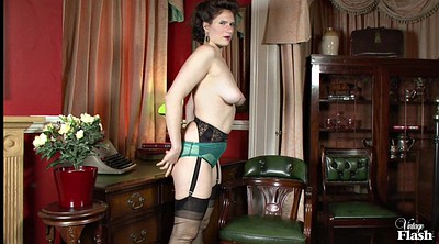 Clothed, Vintage mature