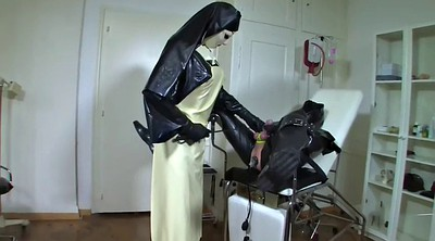 Pump, Leather, Suit, Latex bondage, Ass slave
