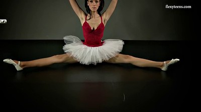 Skirt, Ballet, Upskirt solo, Teen skirt, Flexible solo, Ballerina