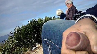 Granny masturbation, Granny outdoor, Couple mature